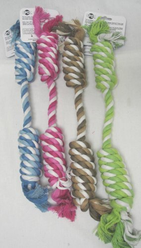 Ethical Pet Products (Spot) DSO5420 Mega Twister Heavy Double Twisted Rope Dog Toy, 19-Inch by Ethical Products (Mega Twister Rope)
