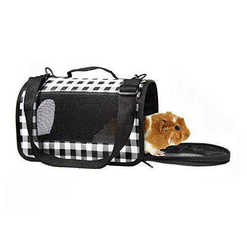 Lifes-Fur-tas-tic-Small-Animal-Carrier-13-L-X-9-W-X-9-H-Black