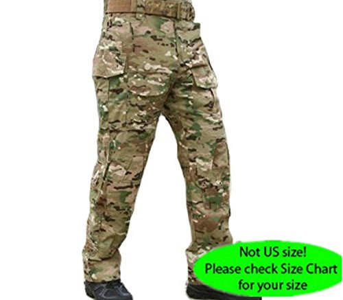 H World Shopping Emerson Military Shooting Gen3 G3 Combat Pants with Knee Pads Multicam MC (Emerson Army compare prices)
