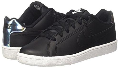 003 black metallic Royale Nike Silver Court Donna Sneaker Nero 8xaqOTqp