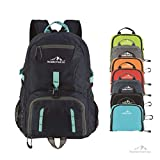Boulder Pack Co. Lightweight Foldable Travel & Hiking Daypack Backpack