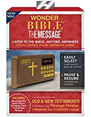Wonder Bible The Message MSG- The Audio Bible Player That Speaks, Message Version, As Seen on TV