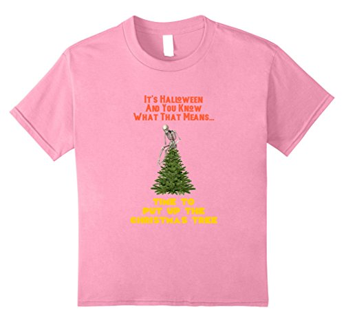 Kids It is Halloween And You Know What That Means Christmas Tree 12 (It's Halloween Mean Girls)