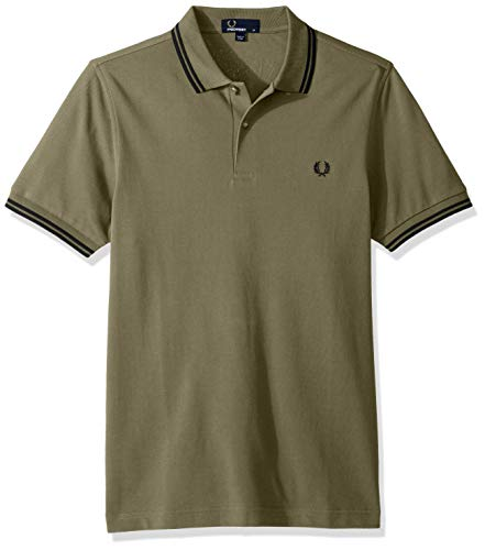 Tipped Fp Perry Uomo Polo Fred Twin Green a5txznnX