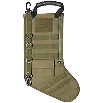 Amazon.com: Tactical Christmas Stocking with Molle in OD Green ...