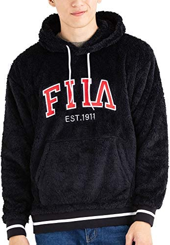 [フィラ スポーツカジュアル] ロゴ刺繍プルパーカー FM5015 メンズ