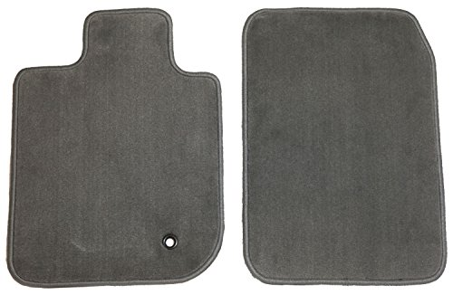 GG Bailey D2847A-F1A-GY Front Set Custom Fit Floor Mats for Select Jeep TJ/Wrangler Models - Nylon Fiber (Jeep Wrangler Carpet Grey 1999)