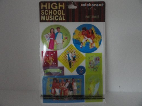 High School Musical Stickers - They Change Pictures When You Move Them - 1 Sheet by Stickeroni ()