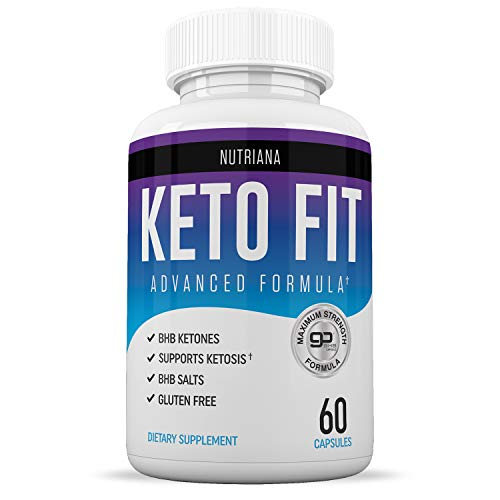 Best Keto Fit Diet Pills - Ketogenic Keto BHB Salts Supplement | Keto BHB Supplement for Women and Men | Keto Diet Pills for Beginners | Exogenous Ketones | 60 Ketosis Pills 30-Day Supply