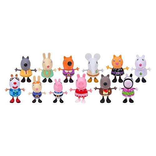 Peppa Pig Peppa Pig Fancy Dress Party Exclusive Figure 12-Pack
