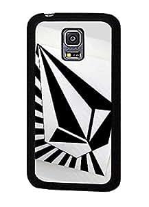 Custom Design Volcom Brand Image Printed Fancy Pattern Hard Shell Carcasa Para Samsung Galaxy S5 Mini