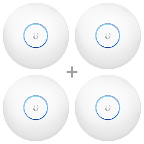 Ubiquiti UAP-AC-LR-US Unifi AP-AC Long Range - Wireless Access Point (4-Pack) Bundle