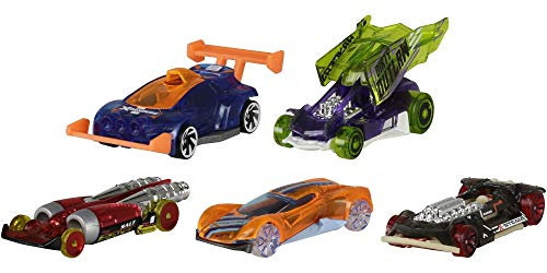 Hot Wheels American 5-Pack 1:64 Scale Die-Cast Cars Collectors of All Ages Premium Graphics Exclusive Great Gift Idea 3…