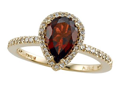 Genuine Garnet Ring by Effy Collection 14kt Gold