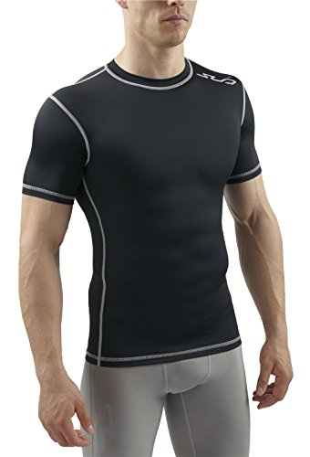 Sub Sports Mens Short Sleeve Compression Top T-Shirt Base Layer Vest – DiZiSports Store