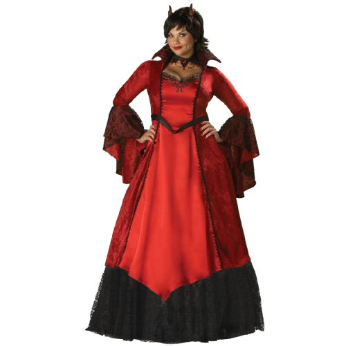 Devil's Temptress Adult Costume - Plus Size -
