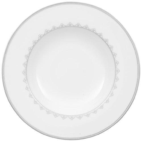 Villeroy & Boch White Lace 9-1/2-Inch Rim Soup ()