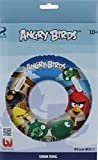 ROVIO Angry Birds Swim Ring Inflatable Boys/Girls Swim Float Safety Valve