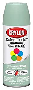 Krylon 53529 Catalina Mist 'Satin Touch' Decorator Spray Paint - 12 oz. Aerosol