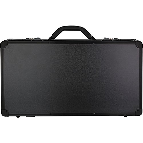 Sunrise Apostoli Barber Case Professional Clippers Travel Organizer Box, Black Matte, 7 - Clipper Aluminum