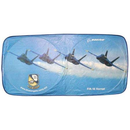 Flight Miniatures USAF Blue Angels F/18 Super Hornet Automotive Sunshade Blue Angels Super Hornet