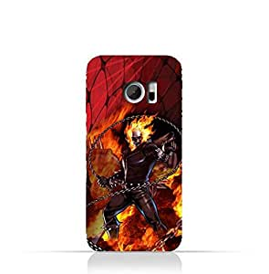 HTC 10 TPU Protective Silicone Case with Ghost Rider Design