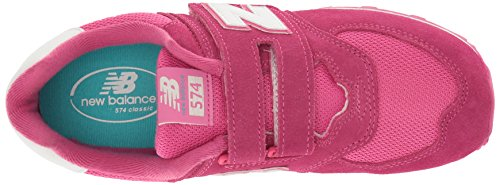 New Balance Kv574czy M Hook and Loop, Zapatillas Unisex Niños Rosa (Pink)