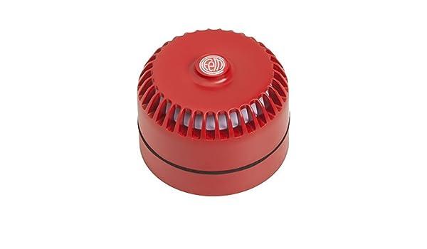 Sirena de alarma bitonal 24V con zócalo alto: Amazon.es: Industria, empresas y ciencia