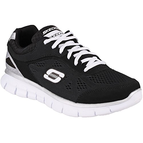 Skechers Synergy - Zapatillas de deporte, Niños Black/White