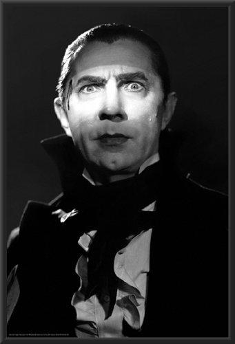 Dracula Movie Bela Lugosi Wood Framed Poster Art Print