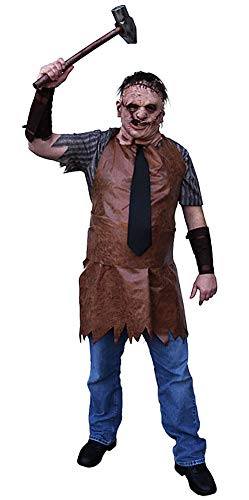 Trick Or Treat Studios Texas Chainsaw Massacre Remake Leatherface Adult Costume Brown ()