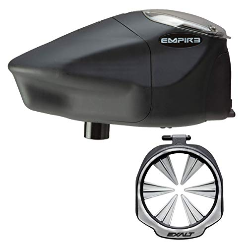 Empire Prophecy Z2 Paintball Loader - Exalt Feedgate - Silver - Wicked Bundle - Empire Paintball Prophecy