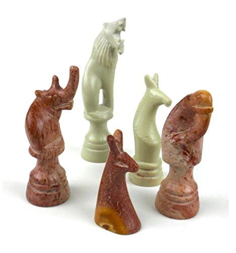 Handmade Soapstone Chess Set - 15