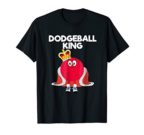 Dodgeball T-shirt Gift - Funny Dodgeball King Player (Kings Player)