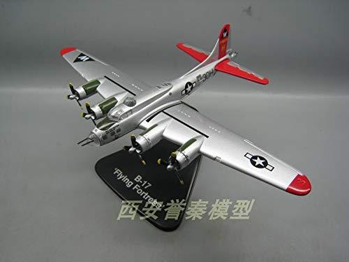 Atlas 1/144 Scale Militä r Modell Spielzeug Aus Dem Zweiten Weltkrieg USAF B-17 Flying Fortress Bomber Diecast Metal Plane Model Toy for Collection