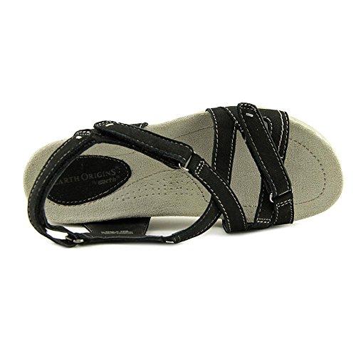 Origines De La Terre Henrietta Womens Sandale Noir