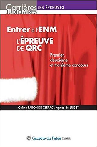 Entrer à l'ENM, l'épreuve de QRC