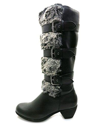 Queens - Stiefel - Damenstiefel 1950700 Black