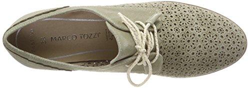 Marco Mujer Zapatos Cordones Tozzi Salvia Comb Premio Verde Oxford de para 23300 q4raqgwU