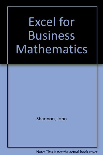 Books pdf mathematics business