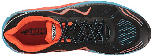 Zee Blue Schwarz MBT Schnuerschuhe 1047Y Black 275816 Herren 700905 Red 17M q16wE1z