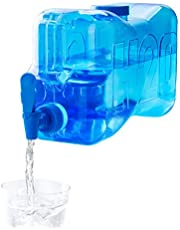 balvi - H2O waterfles van PET-kunststof, met een inhoud van 5,5 l.