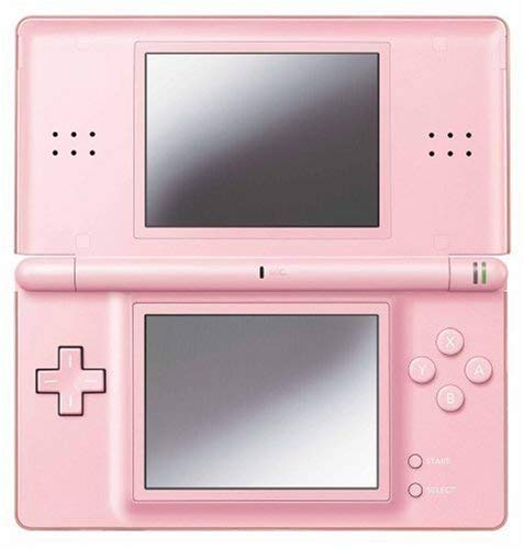 Nintendo DS Lite Console with Top Spin 2 Bundle - Coral Pink (Renewed)