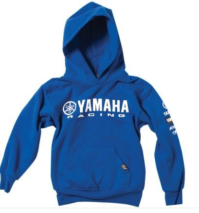 Factory Effex Yamaha Racing Youth Hoody (Blue, Large) ()
