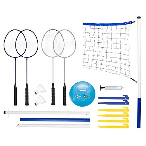 Franklin Sports Recreational Badminton and Volleyball Combo Set (Certified Refurbished)