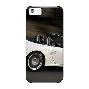 Luoxunmobile333 Premium Protective Hard Cases For Iphone 5c- Nice Design - Porsche Carrera 4s