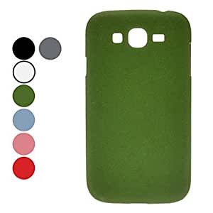 Solid Color Hard Protective Case for Samsung Galaxy Grand Duos I9082 (Assorted Colors) --- COLOR:Red