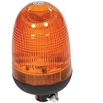 BLA9810 Universal LED Rotating Beacon Light - Pipe Mounted, Allows One Beacon to be used on Multiple Machines