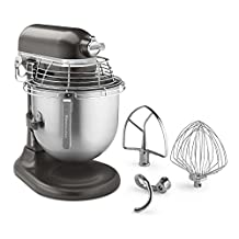 KitchenAid (KSMC895DP) Commercial Series 8 Quart Bowl-Lift Stand Mixer with Stainless Steel Bowl Guard