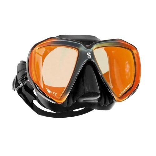 Mask Mirrored Lens (Scubapro Spectra Mask Black Bronze Mirrored Lens)